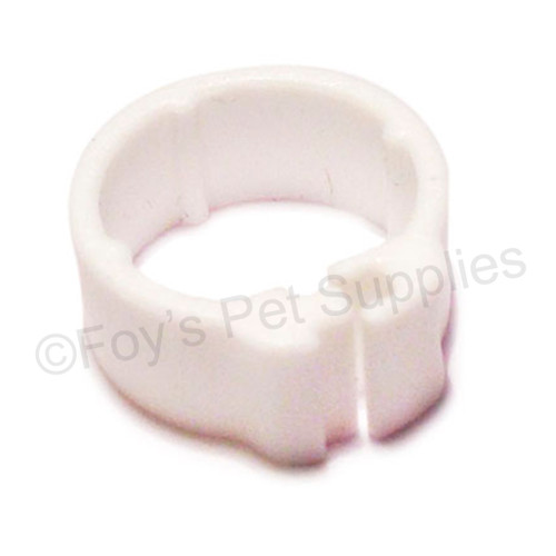 EZ CLIP RINGS, SMALL BREED NO NUMBERS 7 MM - 50 PACK