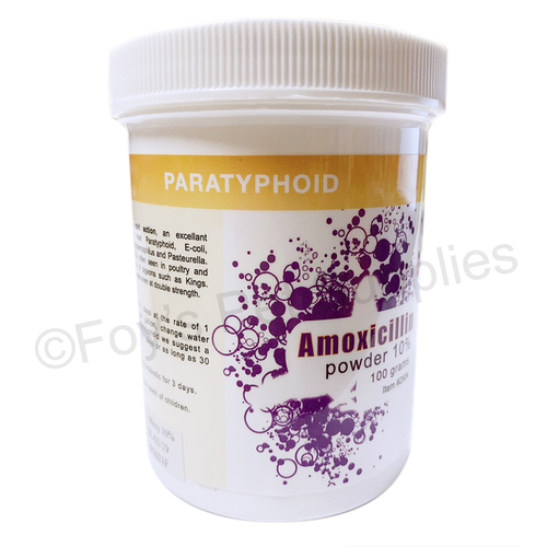 amoxicillin powder, paratyphoid