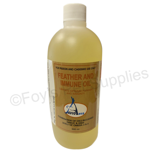Aviomed Feather and Immune Oil