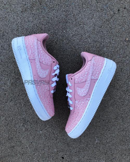 BusyBirdy Pink Nike AF1 Low  Custom