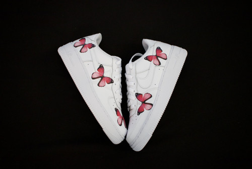 Pink Butterfly Effect Nike AF1 Low Custom