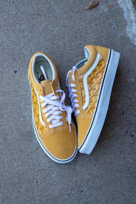 Yellow Yo Gard Old Skool Custom Vans