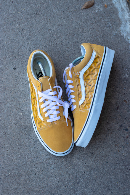Yellow Yo Gard Old Skool Custom Vans