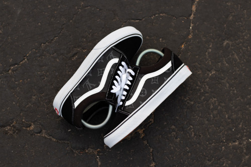 Eclipse Canvas LV Old Skool Custom Vans