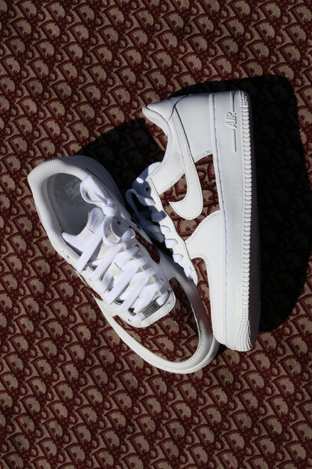 Maroon DD Fabric Nike AF1 Low Custom