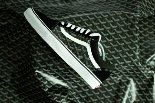 Black Yo Gard Old Skool Custom Vans