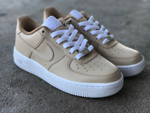 Mens Nike AF1 Low Nude Custom