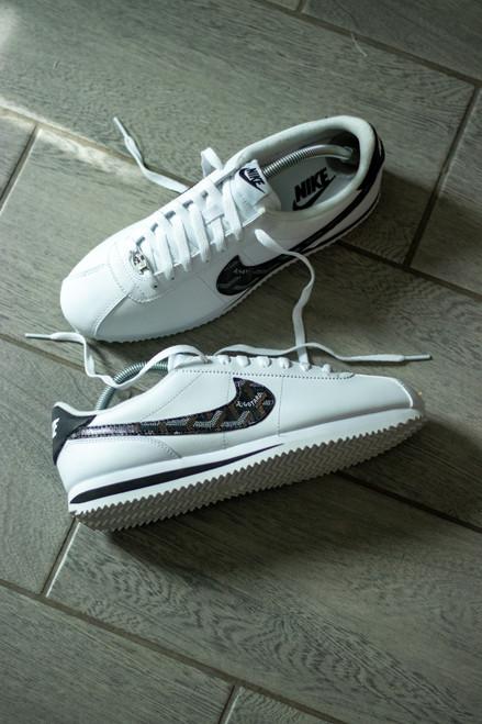 Black Yo Gard Custom Nike Cortez