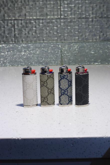 GG  Canvas Bic Lighter Case