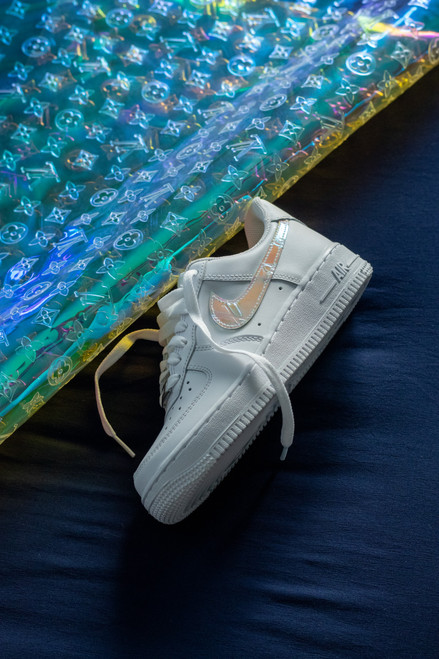 Iridescent Swoosh Nike AF1 Low Custom