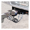 """CURT 44-1/2"""" Safety Cables with 2 Snap Hooks (5,000 lbs., Vinyl-Coated, 2-Pack) #80151"""