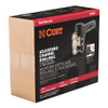 """CURT Adjustable Channel Mount with Dual Ball (2"""" Shank, 14,000 lbs., 6"""" Drop) #45900"""