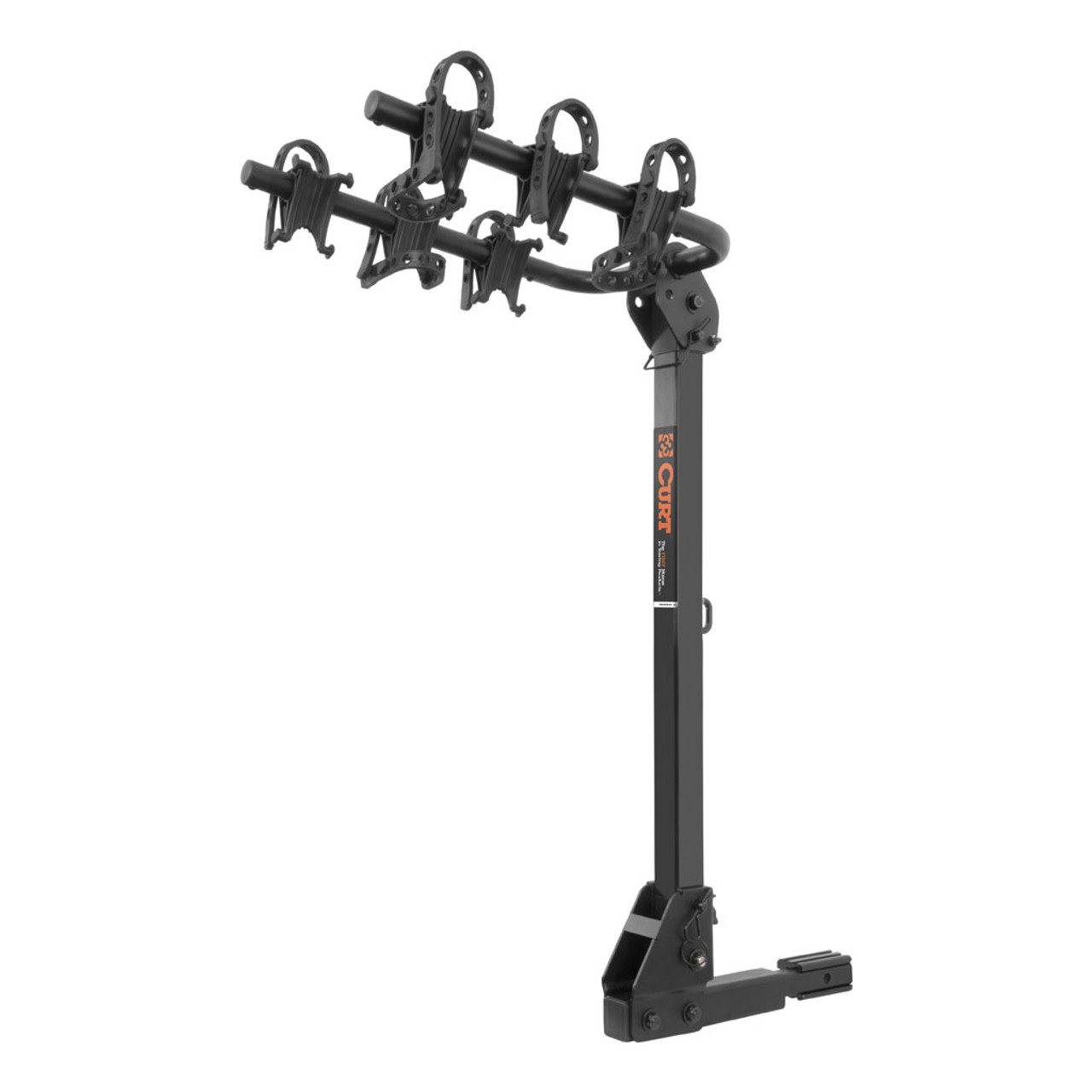 Fits 1-1//4 or 2 Receiver Curt 18030 Black 2 or 4 Extendable Hitch Bike Rack Curt Manufacturing