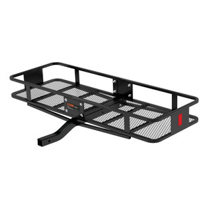 """CURT 60"""" x 20"""" Basket-Style Cargo Carrier (Fixed 2"""" Shank) #18150"""