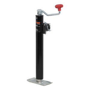 "CURT Pipe-Mount Swivel Jack with Top Handle (5,000 lbs., 15"" Travel) #28356"