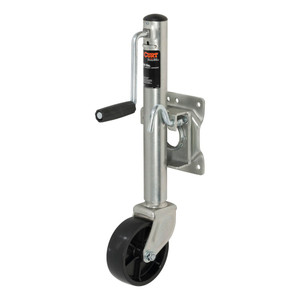 """CURT Marine Jack with 6"""" Wheel (1,000 lbs., 10"""" Travel, Packaged) #28101"""