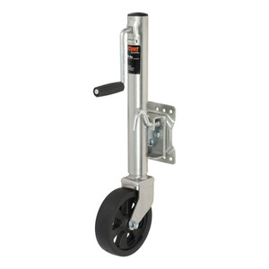 """CURT Marine Jack with 8"""" Wheel (1,500 lbs., 10"""" Travel, Packaged) #28116"""