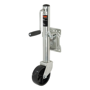"""CURT Marine Jack with 6"""" Wheel (1,200 lbs., 10"""" Travel, Packaged) #28114"""