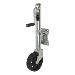 """CURT Marine Jack with 6"""" Wheel (1,500 lbs., 10"""" Travel, Packaged) #28118"""