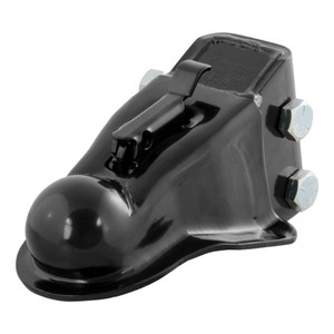 """CURT 2-5/16"""" Channel-Mount Coupler with Easy-Lock (14,000 lbs., Black) #25330"""