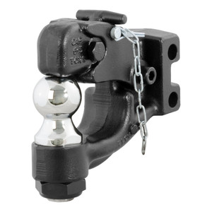"""CURT Replacement Channel Mount Ball & Pintle Combination (2"""" Ball, 10,000 lbs.) #45919"""