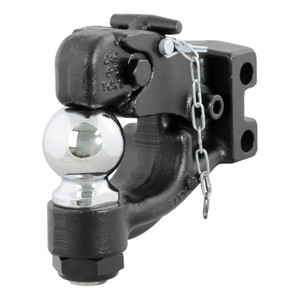 """CURT Replacement Channel Mount Ball & Pintle Combination (2-5/16"""" Ball, 13,000 lbs.) #45920"""