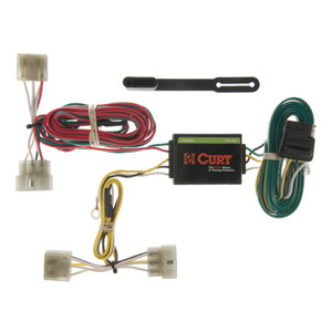 CURT Custom Wiring Harness (4-Way Flat Output) #55371