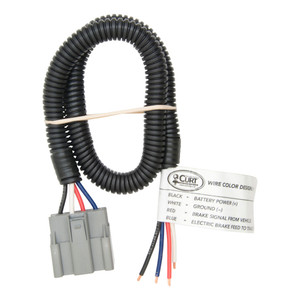 CURT Brake Control Harness with Pigtails (Packaged) #51435