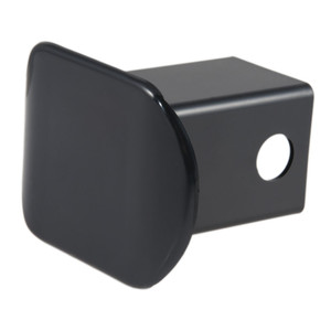 "CURT 2"" Black Plastic Hitch Tube Cover (Packaged) #22181"