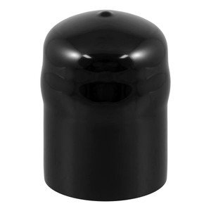 """CURT Trailer Ball Cover (Fits 2-5/16"""" Balls, Black Rubber, Packaged) #21811"""