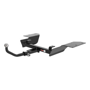 "CURT Class 2 Trailer Hitch with 1-1/4"" Ball Mount with 2"" Trailer Ball #122522"