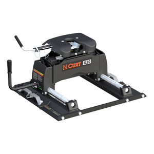CURT Q20 5th Wheel Hitch with Ford Puck System Roller #16677