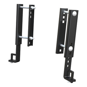 """CURT Replacement TruTrack 8""""Adjustable Support Brackets (2-Pack) #17515"""