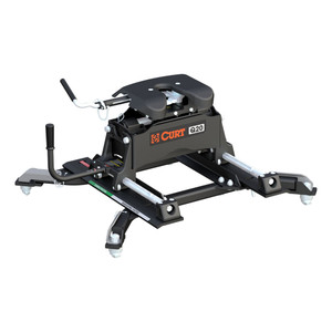CURT Q20 5th Wheel Hitch with Roller and Ram Puck System Adapter #16687