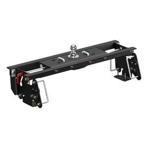 CURT Double Lock EZr Gooseneck Hitch Kit with Installation Brackets #60682