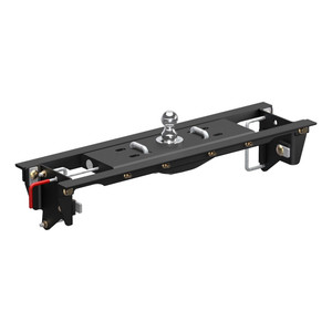 CURT Double Lock EZr Gooseneck Hitch Kit with Installation Brackets #60685