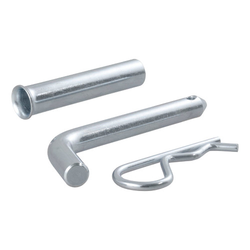 "CURT 1/2"" Hitch Pin with 5/8"" Adapter (1-1/4"" or 2"" Receiver, Zinc, Packaged) #21502"