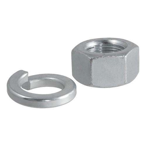 "CURT Replacement Trailer Ball Nut & Washer for 1-1/4"" Shank #40105"