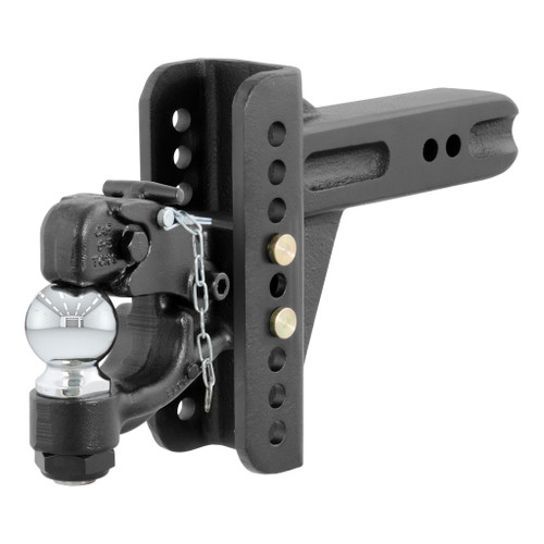 "CURT Adjustable Channel Mount with 2-5/16"" Ball & Pintle (2-1/2"" Shank, 20,000 lbs.) #45908"