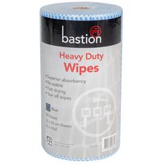 Heavy Duty Wipes Blue 30cm x 50cm Roll 45m