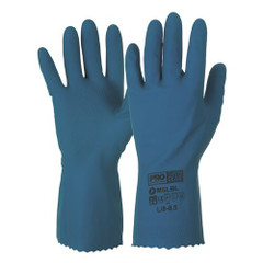 Silver Lined Rubber Gloves 2XL (Pair)