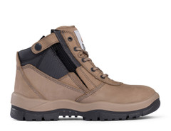 Victor Mongrel Safety Boot Zip Sided Stone