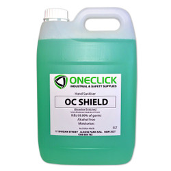5 Litre - One Click Shield Hand Sanitiser (Alcohol Free)