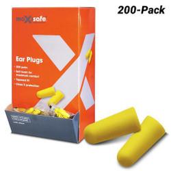 Maxisafe Earplugs Uncorded Box 200