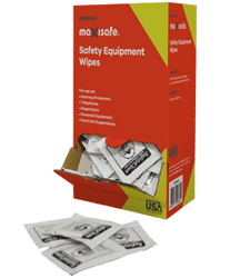 Maxisafe Anti-Fog Lens Cleaning Wipes - Bx/100