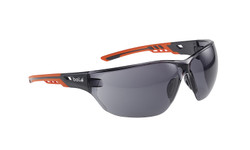 Bolle Ness+ Safety Glasses Smoke Lens