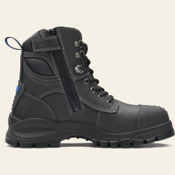 Blundstone Zip Sided Safety Boot Black