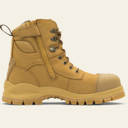 Blundstone Zip Sided Safety Boot Wheat