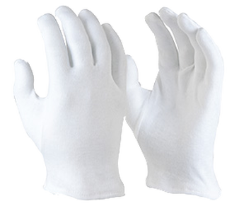Maxisafe Cotton Interlock- Hemmed Cuff Glove