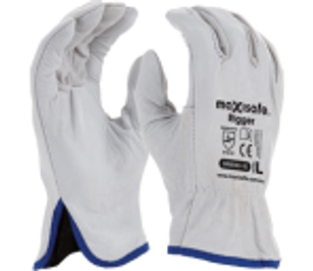 Maxisafe Natural Full Grain Rigger Gloves (Pair)